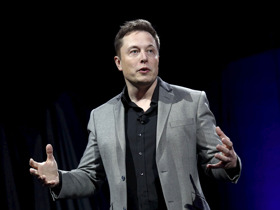 Business magnate, industrial designer and engineer, Elon Musk