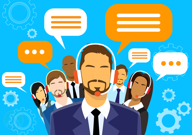 customer support group call centers