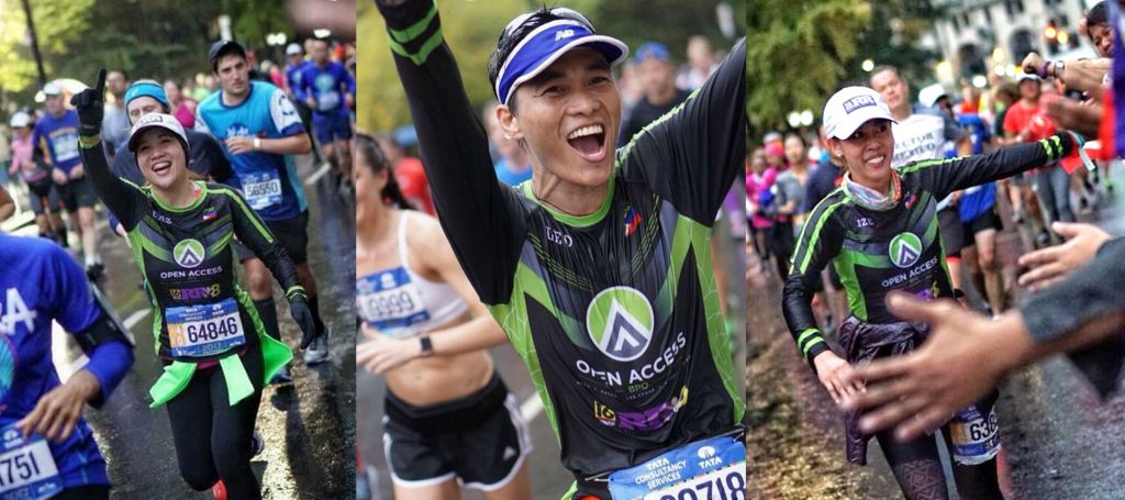Open Access BPO runners at the NYC Marathon