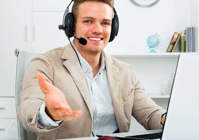 young-male-call-center-agent-smiling