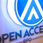 Open Access BPO logo new office banner