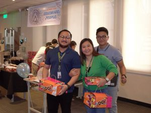 Open Access BPO employees enjoying CS Week