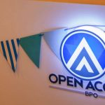 Open Access BPO logo with party
