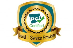 PCI DSS certification badge on the Open Access BPO