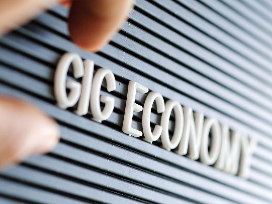 handling on demand gig economy marquee
